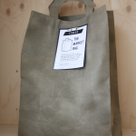 The Market Bag gewaxt canvas