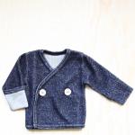 Wollen vestje Mighty Tiny blauw