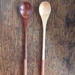 Handgemaakte houten Japanse lepe